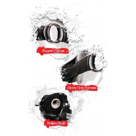 The Black Big One ! - Extension & Gode ceinture de 25 cm !