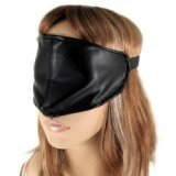 Loup - Masque BDSM simple en cuir