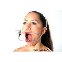 Ouvre bouche de dentiste, avec cran d'arrêt