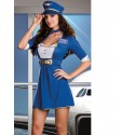[Discontinued] Costume d'hôtesse de l'air Stewardess sexy !