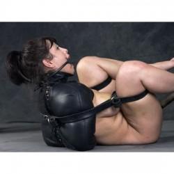 Camisole de force en cuir - accessoire Contraintes SM