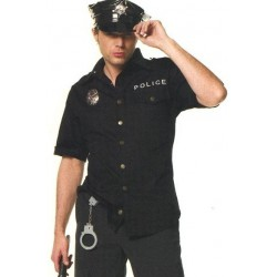 Costume Uniforme de police pour homme - sexy striptease