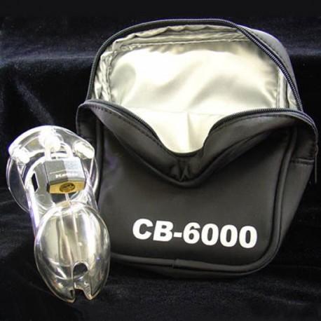 Cage de chasteté CB-6000 Polycarbonate + cadenas
