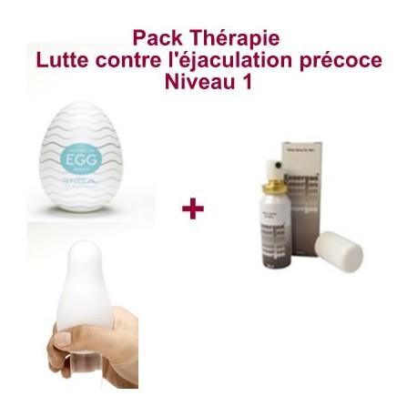 Pack Thérapie - Lutte contre l'éjaculation précoce - Niveau 1
