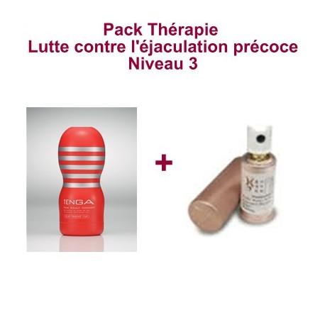 Pack Thérapie - Lutte contre l'éjaculation précoce - Niveau 3