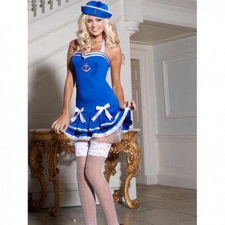 Costume : Robe moulante de marin sexy