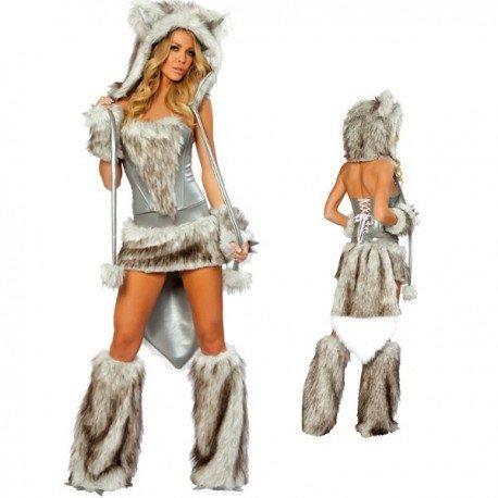 Costume de Louve Loup Sexy Femme