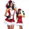 Costume Déguisement de pirate rouge femme sexy !