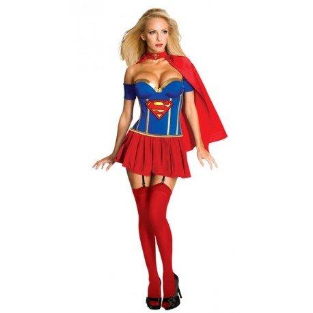 Costume SuperMan SuperWoman Sexy Femme