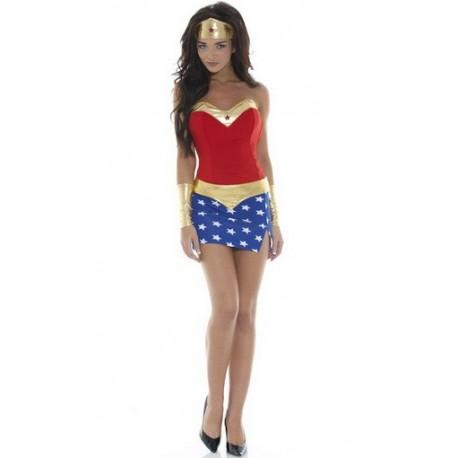 Costume de WonderWoman Sexy