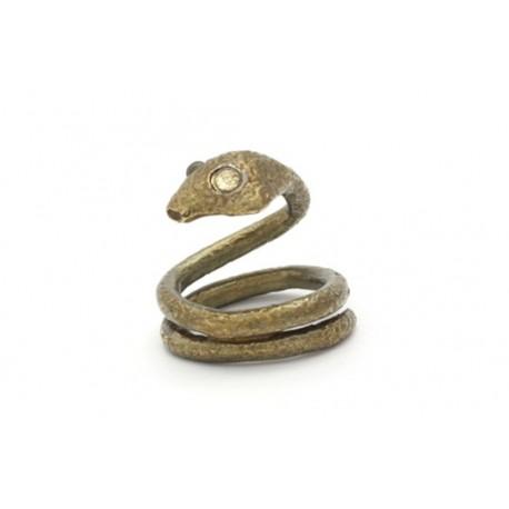 Casque de gland - Bijoux - Bira serpent