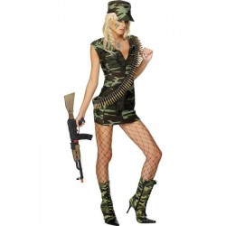 Costume - Robe Militaire Armée femme Sexy