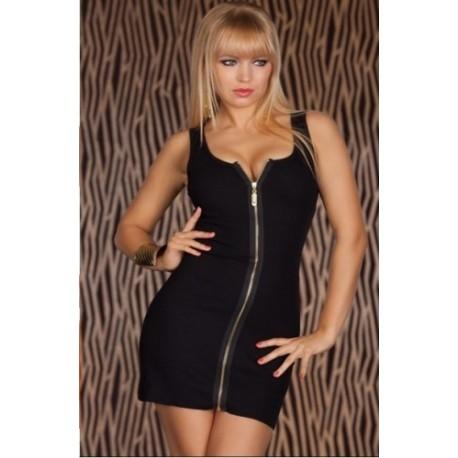 Robe de soirée - Moulante & sexy - zippé devant