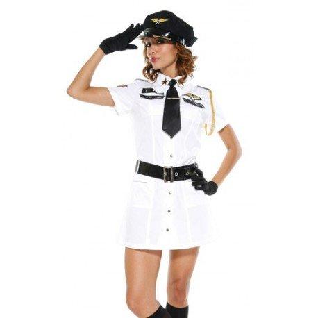 Costume Sexy - Commandante de bord aérien