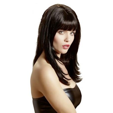 Perruque sexy : Cheveux long avec frange