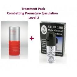 Pack Thérapie - Lutte contre l'éjaculation précoce - Niveau 2 - Difficilement contrôlable
