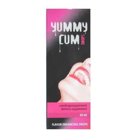 Yummy Cum Drops - Goûtes augmente le volume de sperme