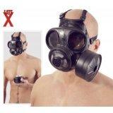 Masque à gaz en latex : Canadien / Danois