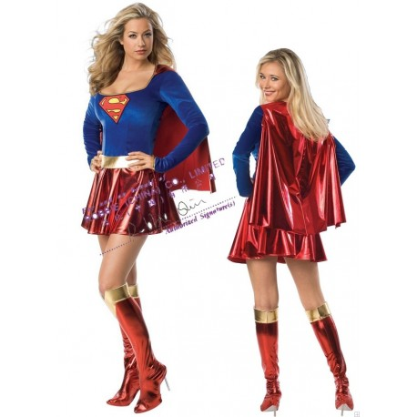 SuperGirl - Costume sexy Super-Héro Femme sexy