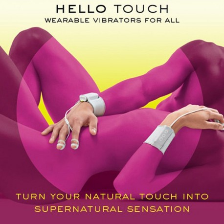 *** discontinued *** JIMMYJANE - Hello Touch - Vibro pour les doigts