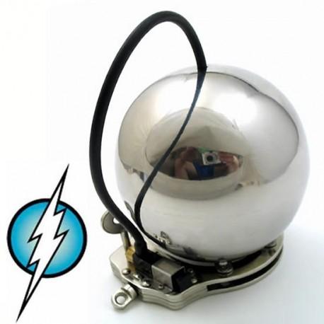 The pit : Sphere cage de chasteté en métal