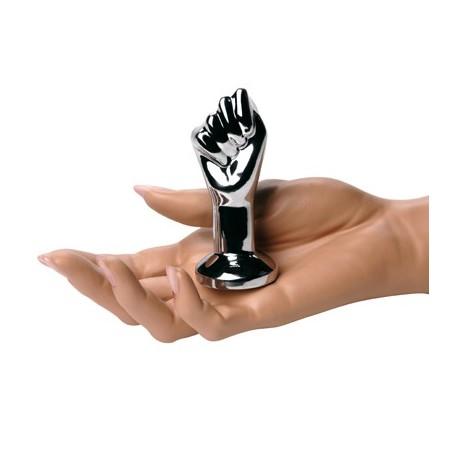 Plug anal en métal - Mini Fist Fucking