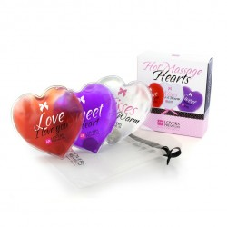 LoversPremium - 3 Cœurs de massage chauffants