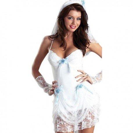 Nuisette robe de mariée sexy