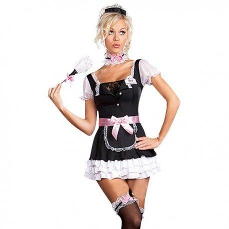 Costume de soubrette classique cintré sexy !