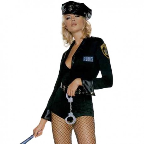 [Discontinued] Costume Body - Police sexy