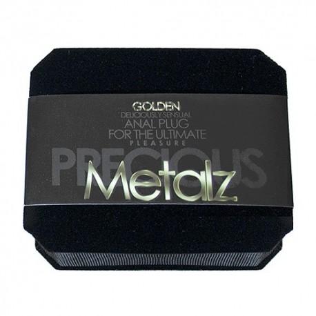 [Discontinued] Precious Metalz - Bijoux intime - plaqué or 24 carats