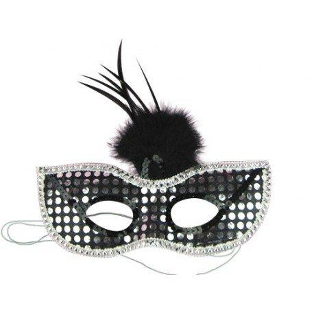 Masque de soirée vénétien, loup glamour