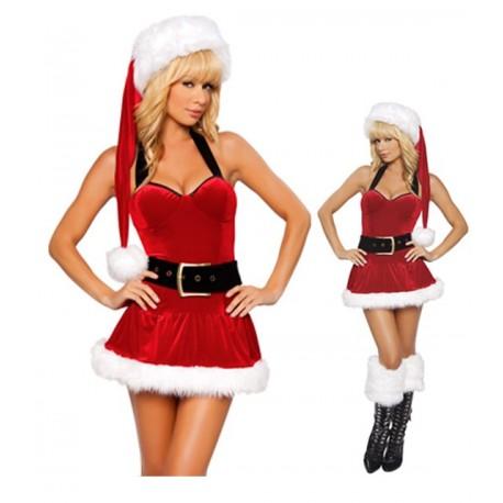Robe décolleté - Mère Noël ou es tu ?