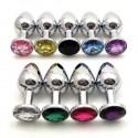 Bijou intime - Plug Anal : 8 coloris / 2 tailles disponibles