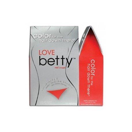 Betty Beauty Coloration kit - Teintures pour poils pubiens, pubis