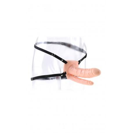 Gaine avec ceinture double pénétration