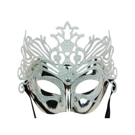 Masque Vénitien - reine des glaces