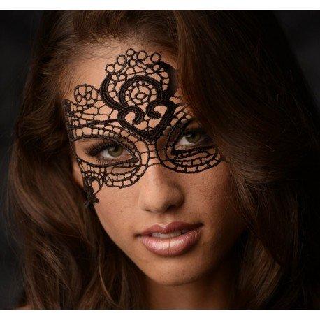 Masque Glamour en dentelle noire