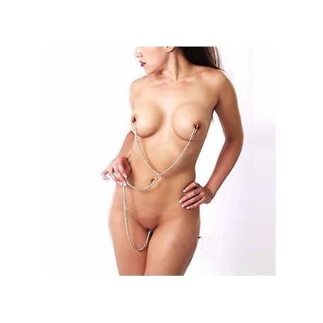 Tits to clits - Pince à tétons et clitoris