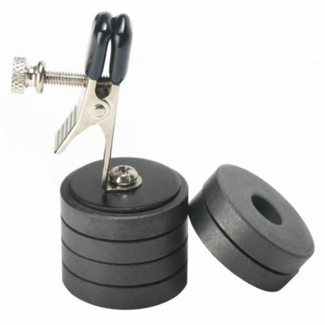 Pince à tétons - poids magnétique