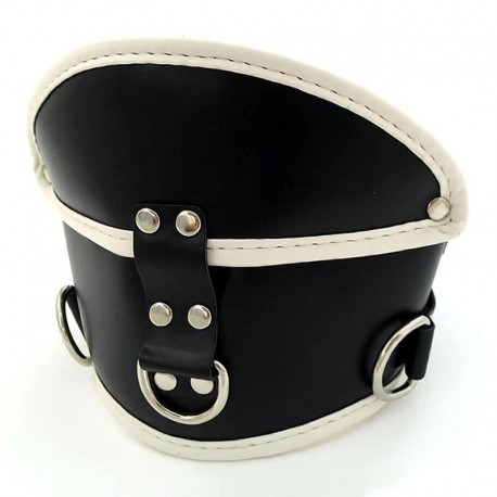 Collier BDSM de posture - De Luxe
