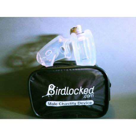 Cage de chasteté - BirdLocked silicone - 2 diamètres dispo.