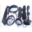 Kit de bondage SM complet - 7 accessoires BDSM
