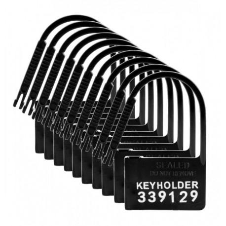 Pack 10 Cadenas numérotés plastique pour chasteté