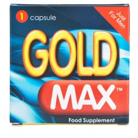[Discontinued] GoldMax homme - Pilules aphrodisiaques & stimulante libido