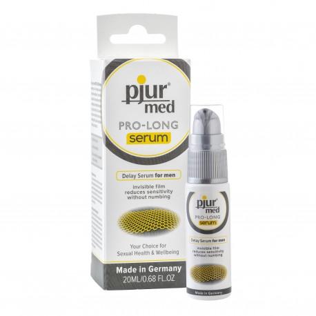 Pjur - MED Prolong Serum 20 ml - Réduit la sensibilité du gland