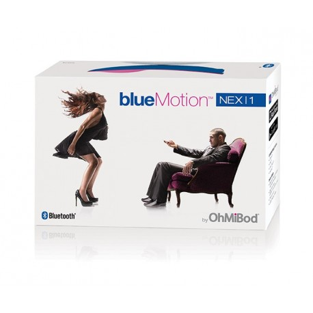 *** discontinued *** OhMiBod - blueMotion Nex 1 - Oeuf vibrant connecté Bluetooth & Wifi