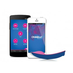 *** discontinued *** OhMiBod - blueMotion Nex 1 - Oeuf vibrant connecté Bluetooth & Wifi