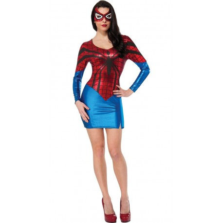 Costume - Robe moulante sexy - SpiderWoman