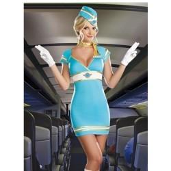 Uniforme moulant & sexy - hotesse de l'air